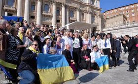 Українські єпископи зустрілися з Папою