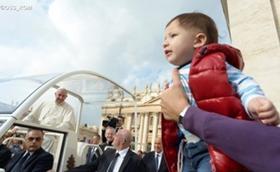 教宗方济各:对子女的许诺
