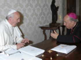 New Audience with Pope Francis