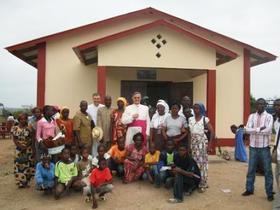 Pirmā Svētajam Hosēmarijam veltītā baznīca Āfrikā
