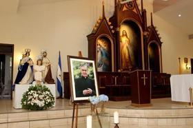 Misa en honor de San Josemaría en Managua, Nicaragua