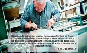 San Josemaría también en la nevera