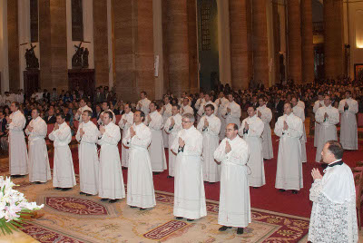 "Ordination of deacons, ""a great manifestation of faith"""
