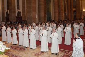 """La ordenación de diáconos, """"una gran manifestación de fe"""""""