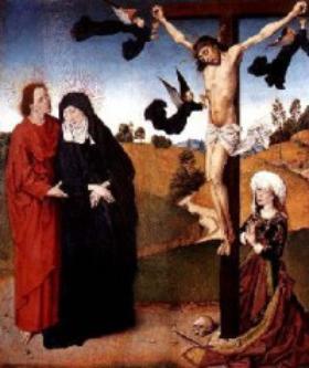 Å feste sin egen lidelse til Kristi kors