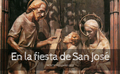 En la fiesta de San José