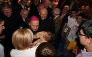 Así empezó hace 14 años su viaje a Colombia el Prelado Mons. Javier Echevarria