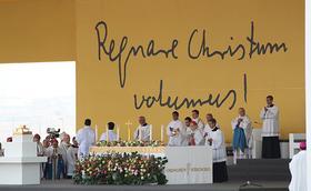 """Papa Francesc: """"El beat Álvaro del Portillo ens envia un missatge molt clar, ens diu que ens refiem del Senyor"""""""