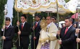 La Universidad de La Sabana celebra el Corpus Christi