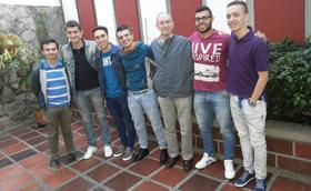 """Manizales y Pereira: """"voluntarios con el papa"""""""