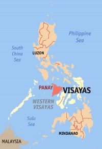 Typhoon Haiyan swept through the northern towns of Panay Island.