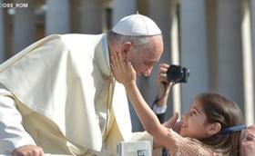 教宗方济各2015年5月13日周三要理讲授全文:家庭——生活三语