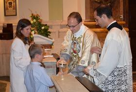 First Mass of Newly ordained Fr. Rego