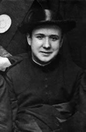 In het Seminarie van San Francisco, Zaragoza (Spanje). Oktober 1922.
