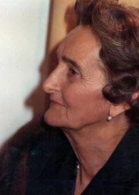 """""""La Obra te ayuda"""", dice Maruja, a sus 98 años."""