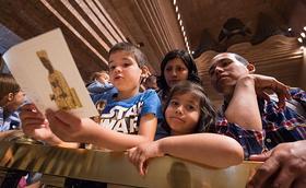 El Santuari de Torreciutat acull les famílies