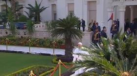 Papin apostolski pohod u Egiptu