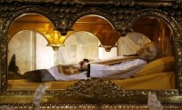 The incorrupt body of St John Mary Vianney
