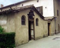 The old cottage of the Curé d'Ars