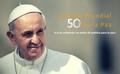 Papst Franziskus - «Gewaltfreiheit: Stil einer Politik für den Frieden»