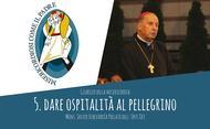 Audio del Prelato: dar ospitalità al pellegrino