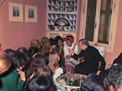 De heilige Jozefmaria Escrivá. Villa Sachetti, Rome. 6-4-1971.