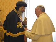 البابا فرنسيس في مصر: البيان المشترك بينه وبين تواضروس الثاني