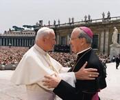 BeatificaciСn de San JosemarМa EscrivА. Plaza de San Pedro (Vaticano). 18-V-1992