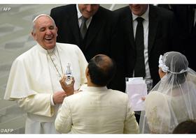 """Papst: """"Liebe Väter, seid aufmerksamer!"""""""