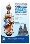 Peregrinación Nacional Virgen de los Treinta y Tres, Patrona del Uruguay