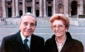 湯瑪斯‧阿維拉 及 芭崎塔‧多明格 祈禱卡