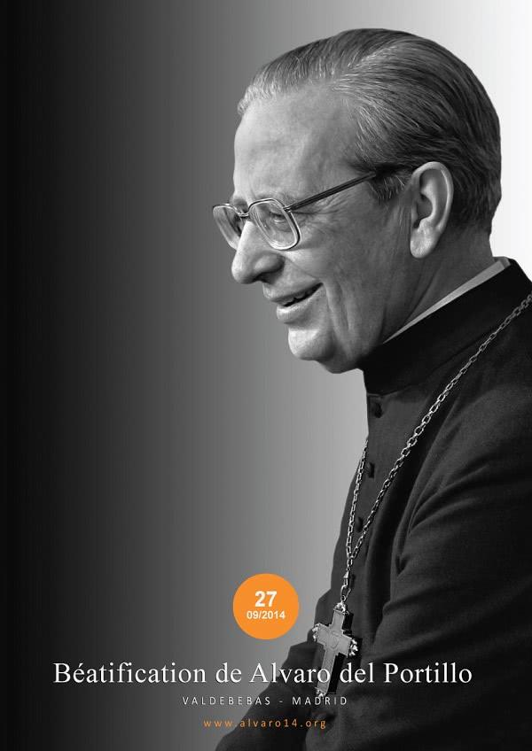 Programme de la béatification de Mgr Alvaro del Portillo