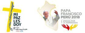 Discursos y homilías del Papa Francisco en Chile y Perú