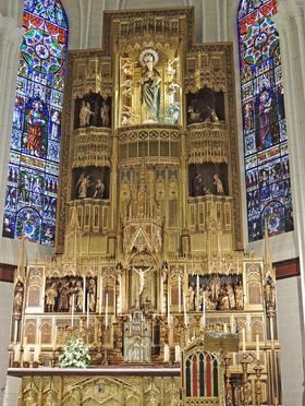 Una Misa en la víspera de la Beatificación