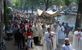 Sacramentsprocessie Amsterdam 2017