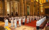 Sfințire de diaconi la Roma (8.11.2014)