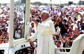 Papa Francisco celebrará multitudinaria Misa en la Costa Verde