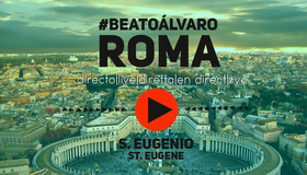 Transmissão dos Atos em Roma após a beatificação ao vivo