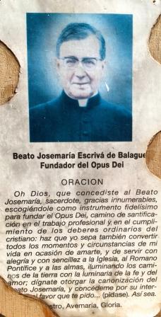 """Un """"encuentro"""" con San Josemaría (San José, Costa Rica)"""