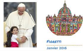 Les fioretti du pape François en janvier