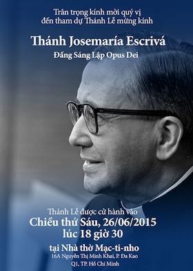 Thánh Lễ Mừng Kính Thánh Josemaria Escriva năm 2015