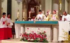 欧华路主教获宣福,在香港举行隆重感恩祭