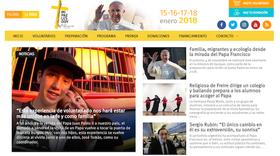 Sitio oficial de #FranciscoenChile