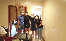 """Nach dem Hurricane """"Harvey"""": Freiwillige helfen den Betroffenen"""
