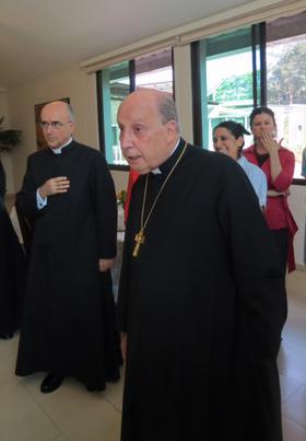 Panamá: Prelado del Opus Dei visita Tagua, labor social en Cerro Azul