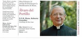 Misa en Parroquia Santa Teresita por la Beatificación de Álvaro del Portillo