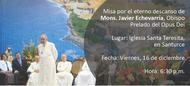 Misa en San Juan por el prelado del Opus Dei