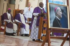 Funeral masses for Bishop Javier Echevarria in East Africa