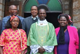 Homecoming Mass of Fr. James Mwaura