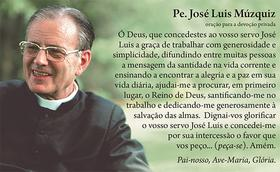 Oração a José Luis Múzquiz